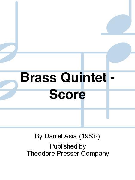 Brass Quintet - Score
