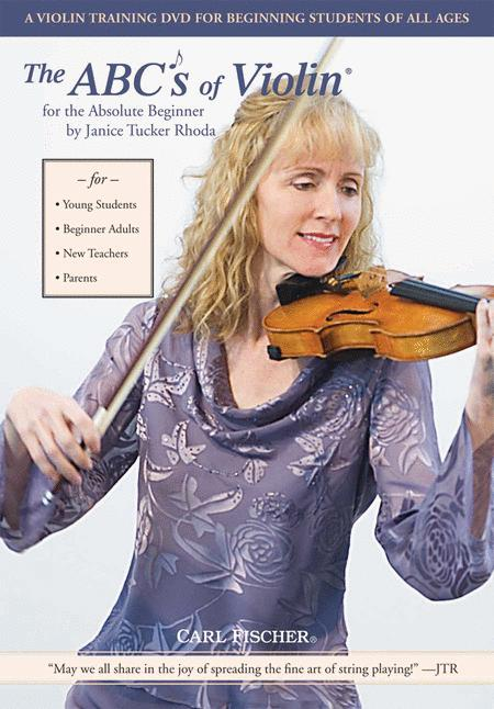 The ABC's of Violin for the Absolute Beginner DVD