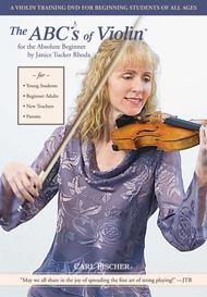 The ABC/'s Of Violin Book 1 Absolute Beginner Violin Sheet Janice Tucker Rhoda