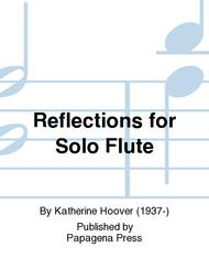 Reflections For Solo Flute