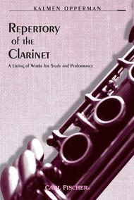 Repertory of the Clarinet