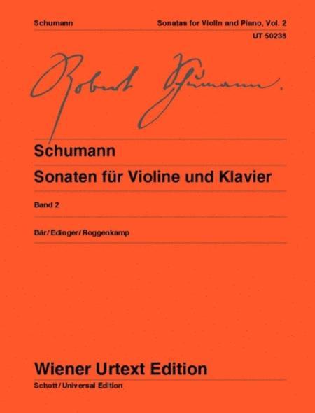 Sonatas for Violin and Piano, WoO 2 - Volume 2