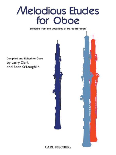 Melodious Etudes For Oboe