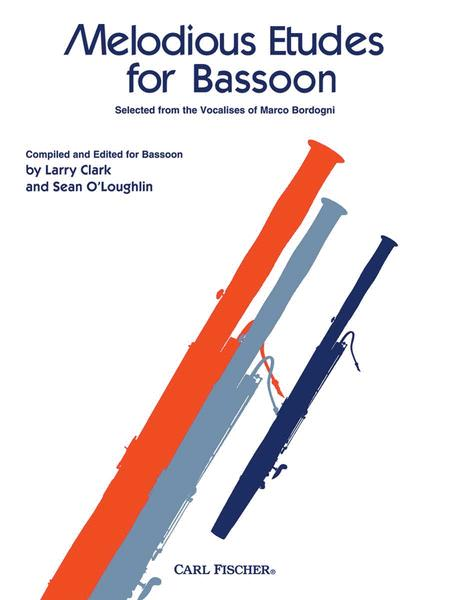 Melodious Etudes For Bassoon