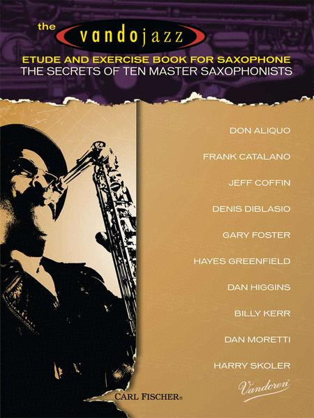 The Vandojazz - Etude and Exercise Book for Saxophone