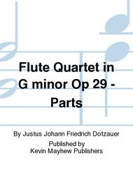 Flute Quartet in G minor Op 29 - Parts