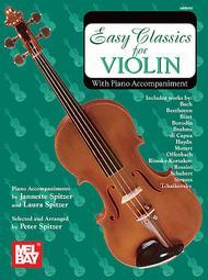 Easy Classics for Violin - With Piano Accompaniment