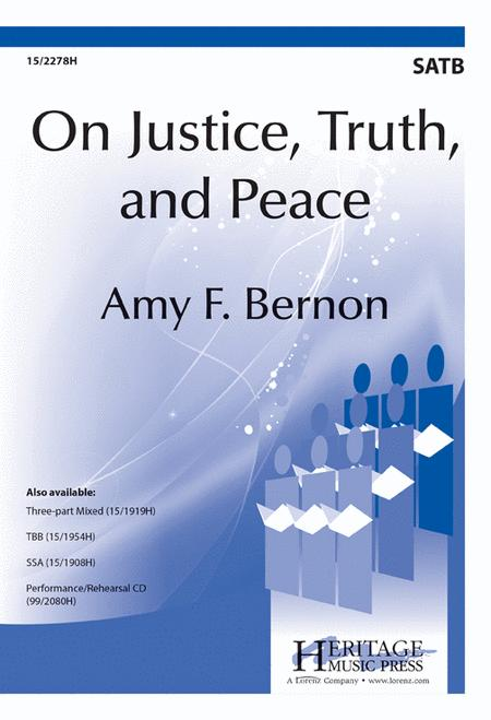 On Justice, Truth, and Peace