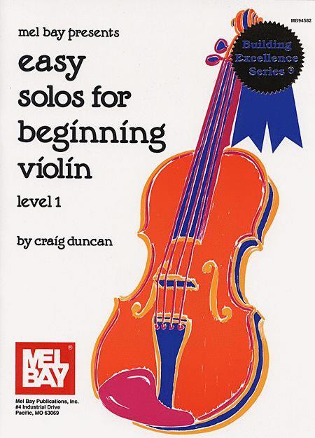 Easy Solos for Beginning Violin - Level 1