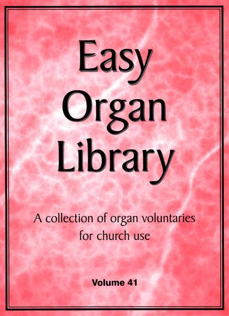 Easy Organ Library, Vol. 41