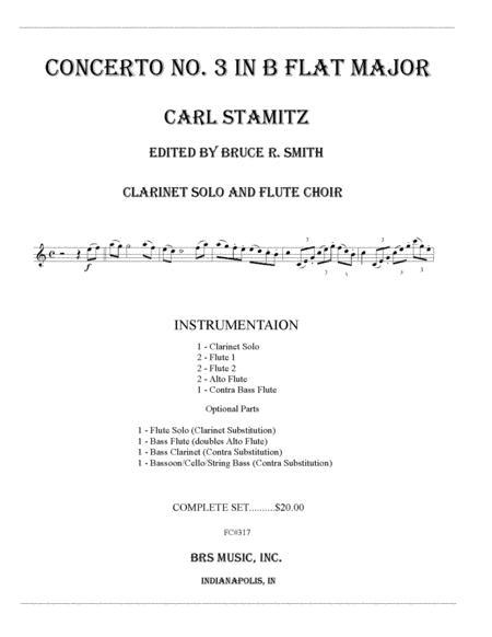 Concerto No. 3 in B Flat Major