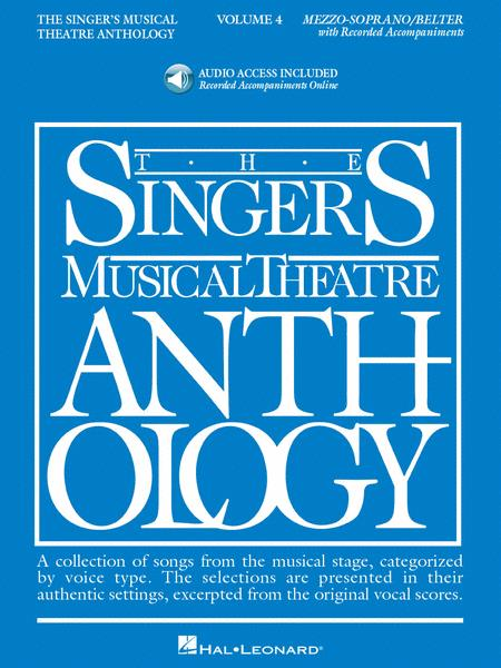 The Singer's Musical Theatre Anthology - Volume 4 - Mezzo-Soprano