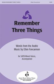 Remember Three Things