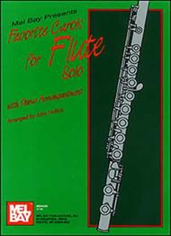 Favorite Carols for Flute Solo