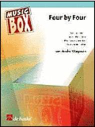 Four By Four Saxophone Quartet (easy-intermediate)