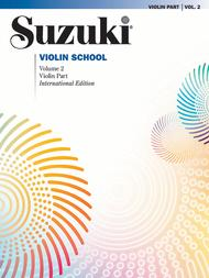 Suzuki Violin School, Volume 2 - Violin Part (Revised)