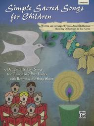 Simple Sacred Songs for Children (Book)