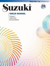 Suzuki Violin School Violin Part & CD, Volume 1 (Revised Edition)