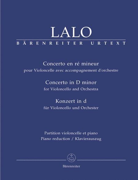 Concerto for Violoncello and Orchestra d minor