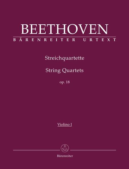 String Quartets, Op. 18