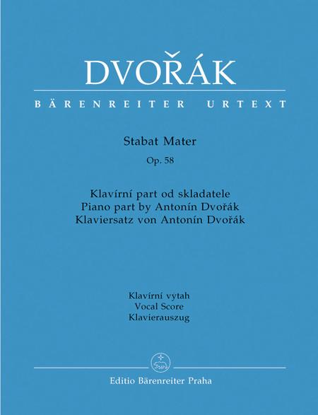 Stabat Mater, op. 58 (Version in 10 movements)