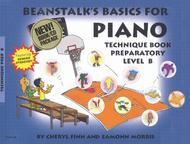 Beanstalk's Basics for Piano - Technique Book, Prep Level B (Book/CD)