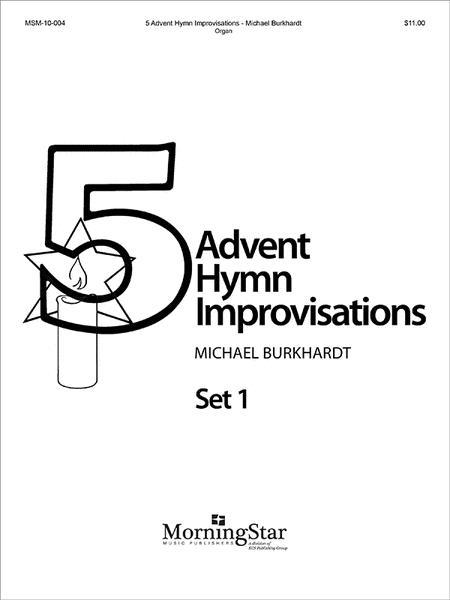 five advent hymn improvisations set 1 sheet music by. Black Bedroom Furniture Sets. Home Design Ideas