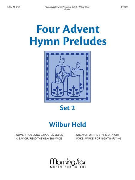 four advent hymn preludes set 2 sheet music by wilbur. Black Bedroom Furniture Sets. Home Design Ideas