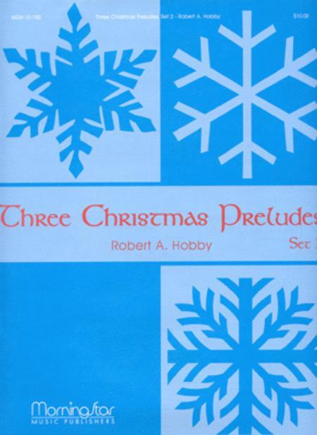 Three Christmas Preludes, Set 2
