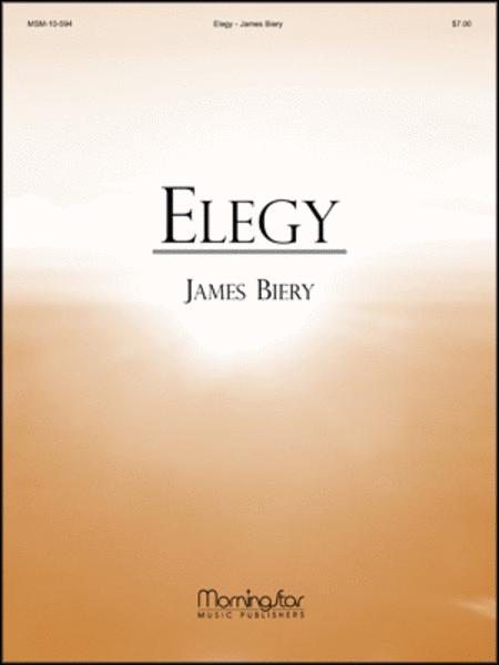 Elegy (Organ Score)