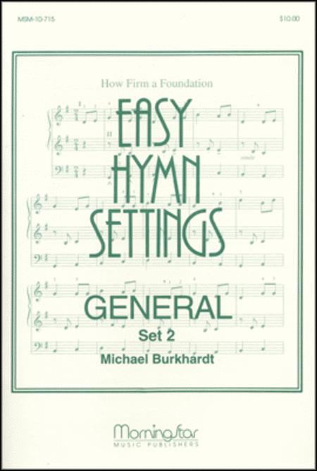 Easy Hymn Settings-General Set 2