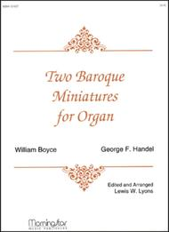 Two Baroque Miniatures