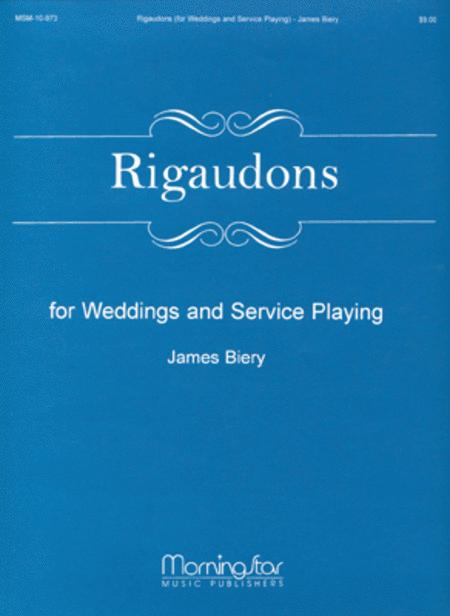 Rigaudons for Weddings and Service Playing
