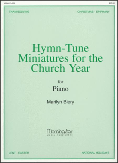 Preview Hymn-Tune Miniatures For The Church Year By Marilyn