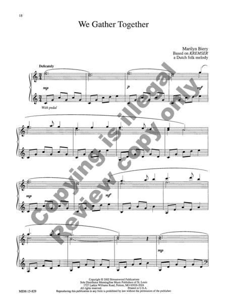 Preview Hymn-Tune Miniatures For The Church Year By Marilyn Biery