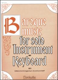Baroque Music for Solo Instrument & Keyboard, I