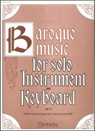 Baroque Music for Solo Instrument & Keyboard, IV