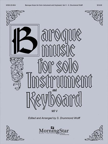 Baroque Music for Solo Instrument & Keyboard, V