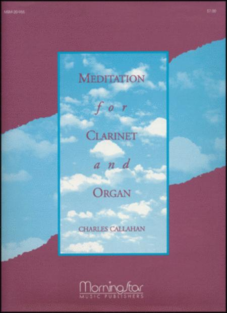 Meditation for Clarinet and Organ