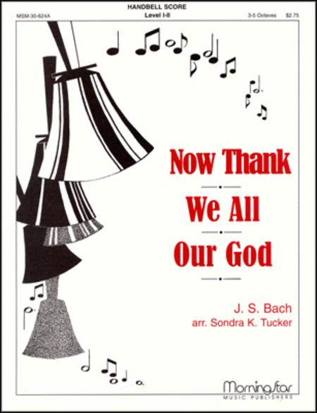 Now Thank We All Our God (Organ Score)