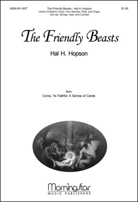 The Friendly Beasts (Choral Score)