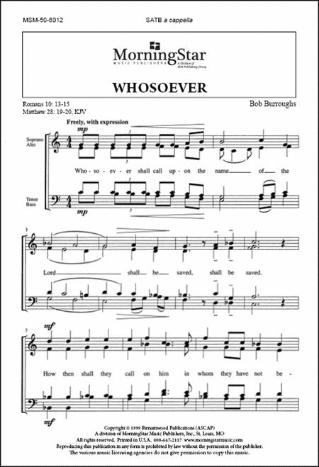 Whosoever