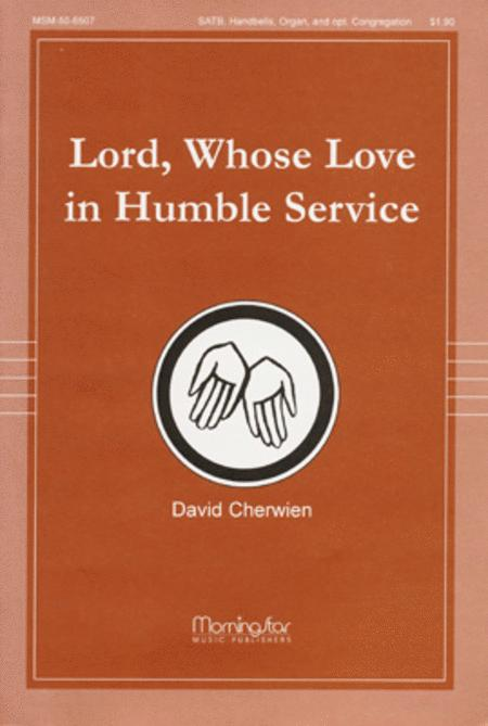 Lord, Whose Love in Humble Service (Choral Score)
