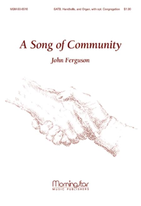 A Song of Community (Choral Score)