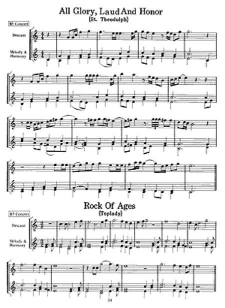 Hymns & Descants for Trumpet FREE Sheet Music Notes Preview