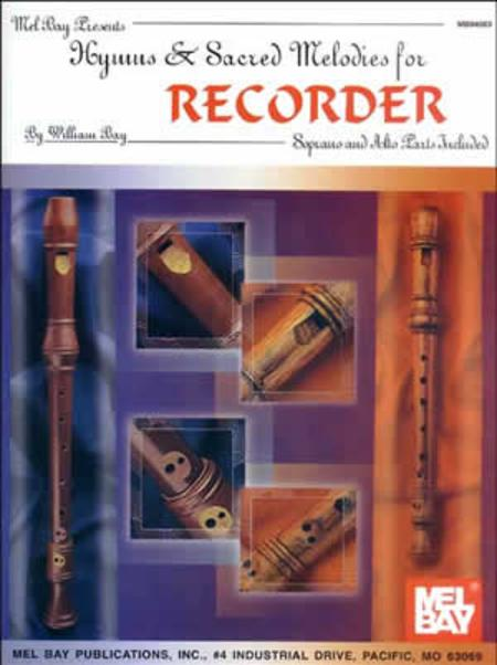Hymns & Sacred Melodies for Recorder