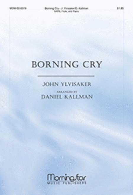 Borning Cry (Choral Score)