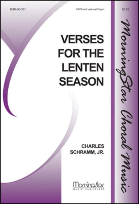 Verses for the Lenten Season