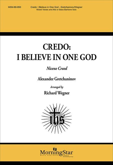 I Believe in One God (Nicene Creed)