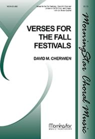Verses for the Fall Festivals